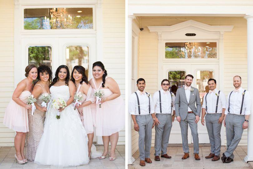 diy allan house wedding