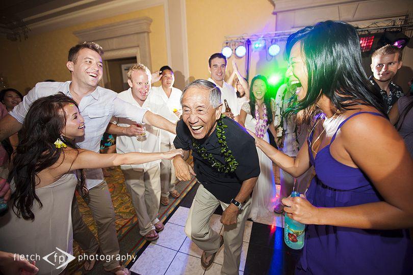 Tiger Jones Productions Wedding DJ Hawaii