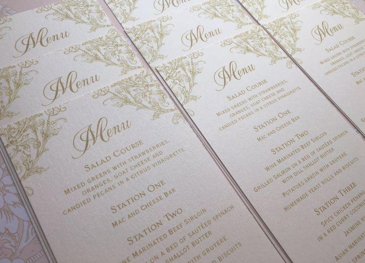 menu cards 51 58786
