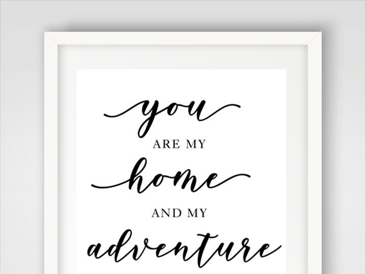 Tmx Loves Adventure Sign 51 58786 Drexel Hill, PA wedding invitation