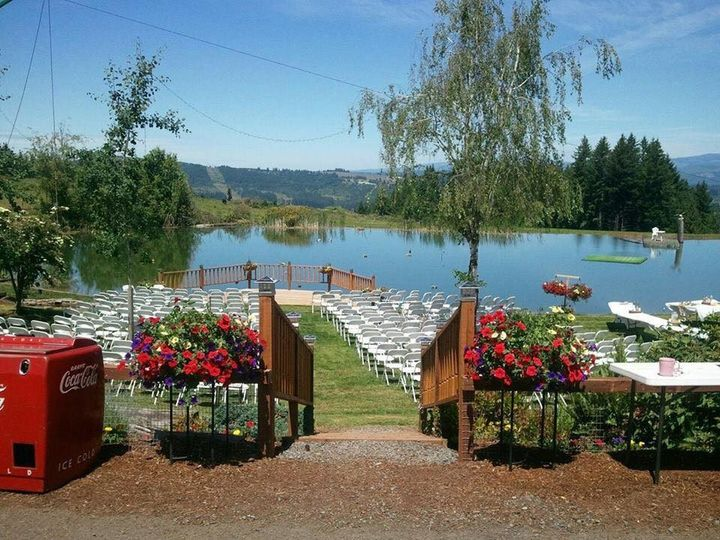 Walkway to the ceremony space