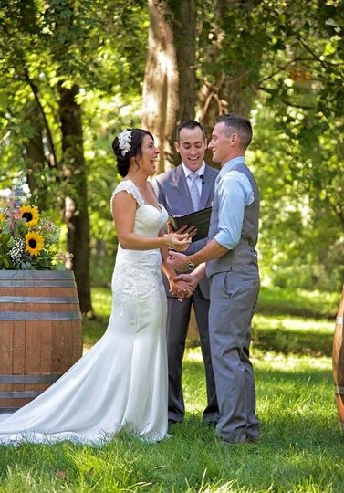 Ceremony in the field