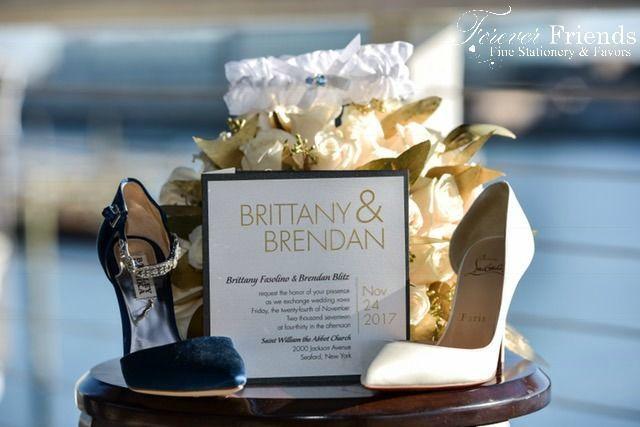 Bryt and Bren's wedding invitation
