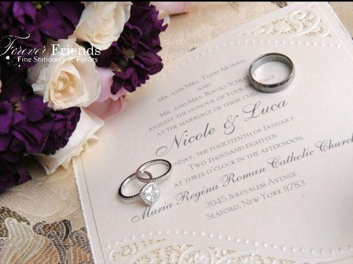 Tmx 1535572401 60b27d9ddbcc9b81 1535572400 Cf264c27fab6dcb3 1535572401549 1 Nicole And Luca In Old Bethpage, NY wedding invitation