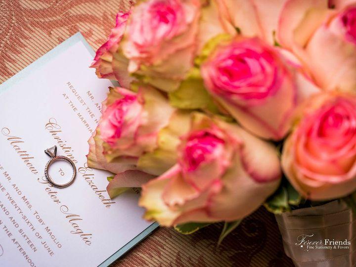 Tmx 1535574761 B43f582365ff1c7d 1535574760 727c6a31a2b91c6b 1535574761554 3 Christina And John Old Bethpage, NY wedding invitation