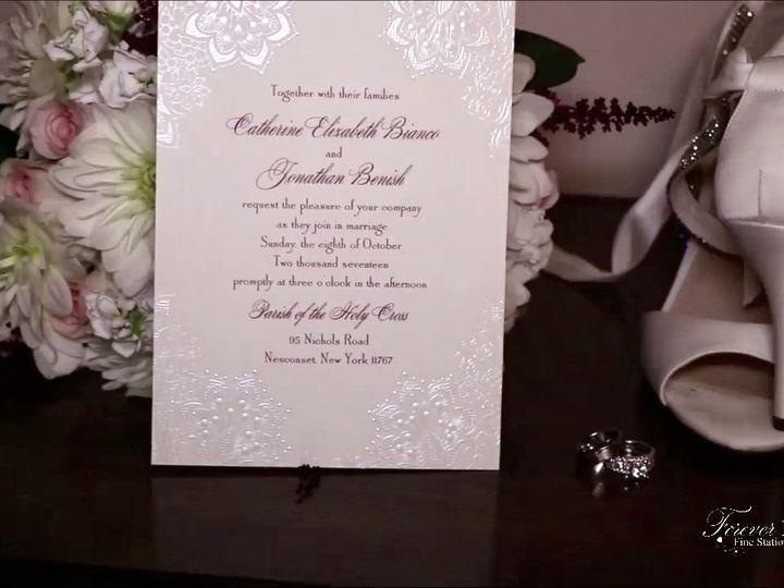 Tmx 1535577670 6de3e20c1d6e1671 1535577669 F631e03e571be331 1535577670471 3 Catherine And Jona Old Bethpage, NY wedding invitation