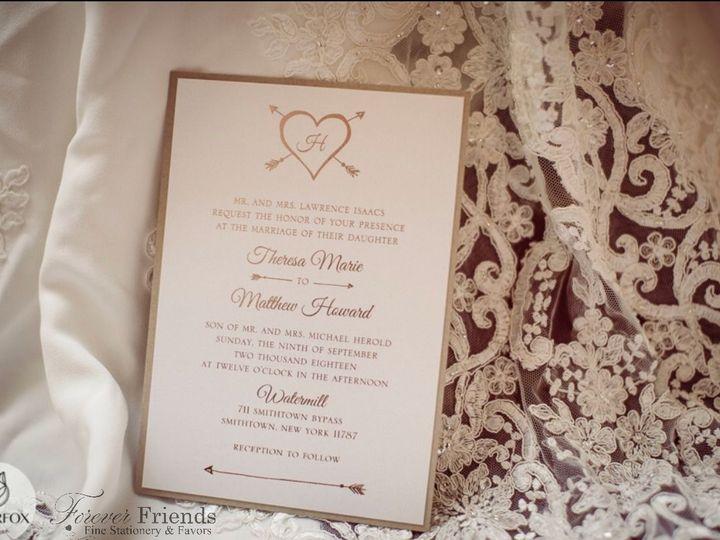 Tmx 1538853176 4134823cf58ff939 1538853175 D3380ad469b869cb 1538853176660 1 Theresa And Matthe Old Bethpage, NY wedding invitation