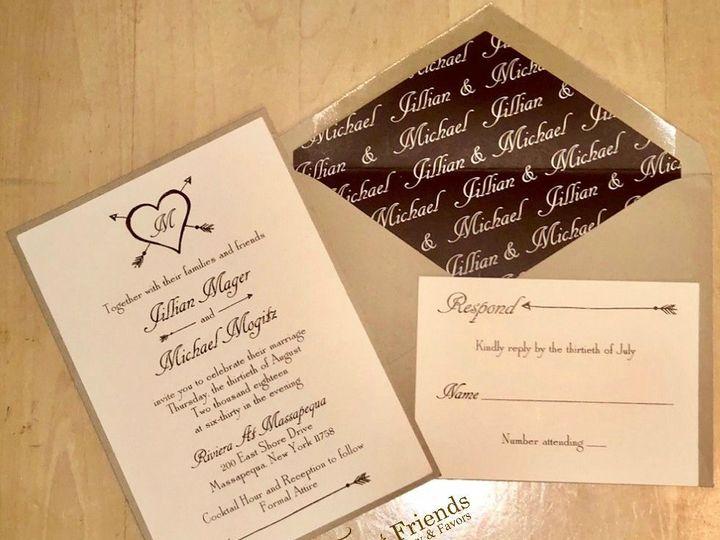 Tmx 1539445007 A1fc4dd45df28ccf 1539445007 0de22c50014d2dc0 1539445008156 1 Jillian And Michae Old Bethpage, NY wedding invitation