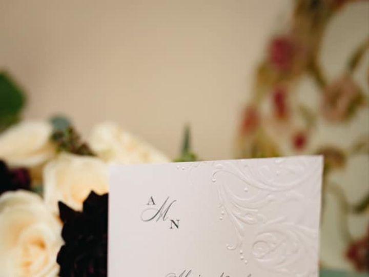 Tmx Alexis And Nicholas Invite Pic2 Use 51 151886 158123267754081 Old Bethpage, NY wedding invitation