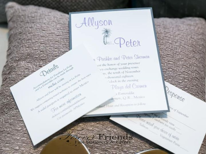 Tmx Allyson And Peter Invite Pic 5 Use Use 51 151886 1559084746 Old Bethpage, NY wedding invitation
