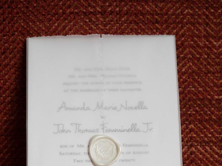 Tmx Amanda And John Wedding Invite Pic Use 1 51 151886 160516636695665 Old Bethpage, NY wedding invitation