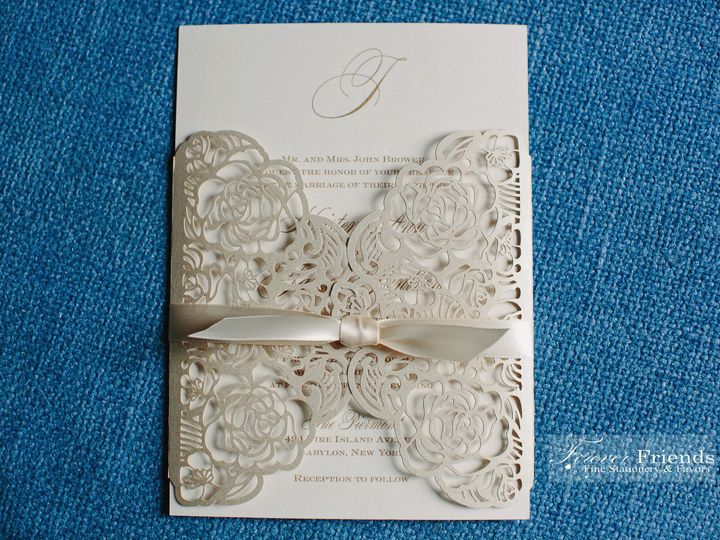 Tmx Kristen And James Laser Cut Wrap Pic Use 51 151886 158050264552547 Old Bethpage, NY wedding invitation