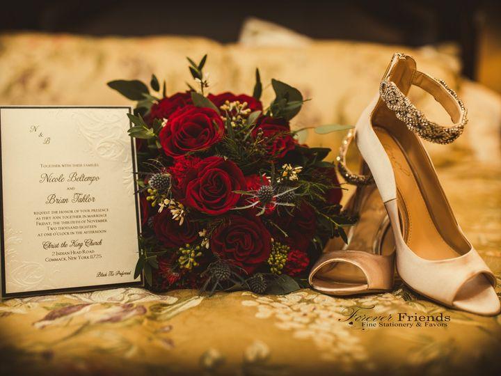 Tmx Nicole And Brain Invite Pic Use Use Use 51 151886 1563568534 Old Bethpage, NY wedding invitation