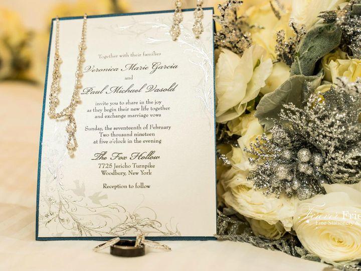 Tmx Veronica And Paul Invite Pic 51 151886 Old Bethpage, NY wedding invitation