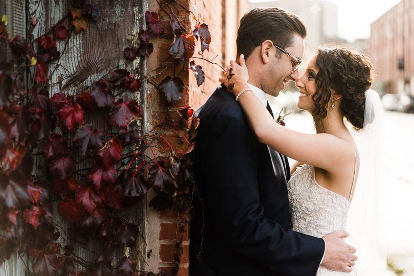 Wedding in downtown Utica