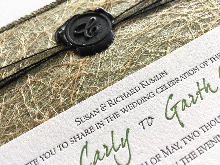Tmx 1507636214394 Closeup Mooresville wedding invitation