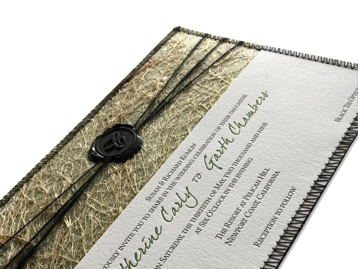 Tmx 1507636385988 Invitefront Mooresville wedding invitation