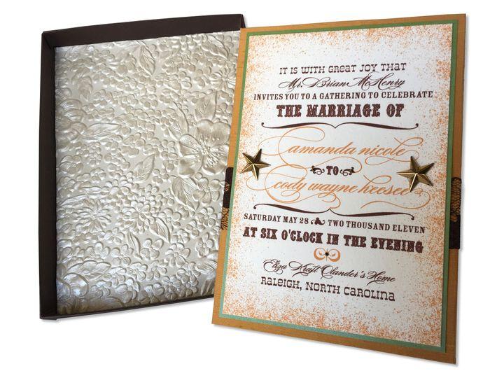 Tmx 1507636637652 Inviteinsidebox Mooresville wedding invitation