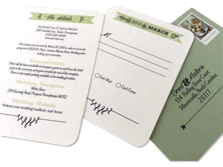 Tmx 1507636781672 Img8302 Mooresville wedding invitation