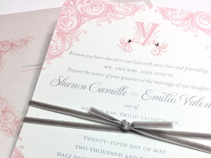 Tmx 1507642882431 Img9413 Mooresville wedding invitation