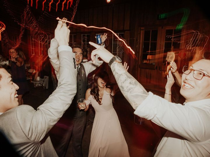 Tmx 1539127455 048c1d1aa668ca48 1539127453 F96733caceb029e9 1539127452169 8 GayleAndEric Santa Berkeley wedding dj