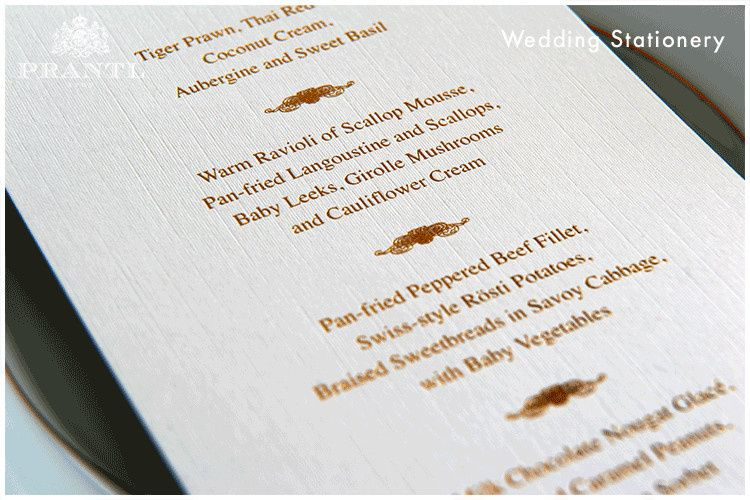 prantl wedding stationery