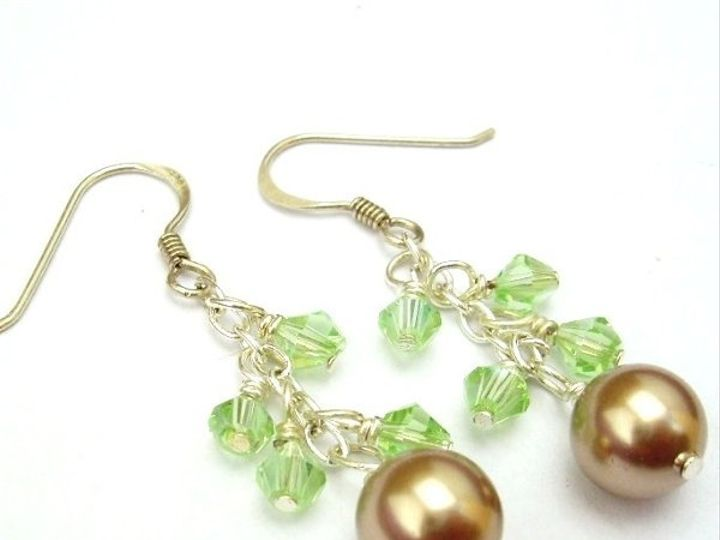 Tmx 1291242433567 GreenEarrings Steubenville wedding jewelry