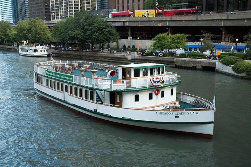 Chicago's Classic Lady, one of our largest vessels with a comfortable capacity of 200. Each boat...