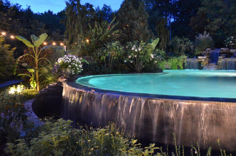 Oak hill gardens venue london ky weddingwire for Pool designs lexington ky