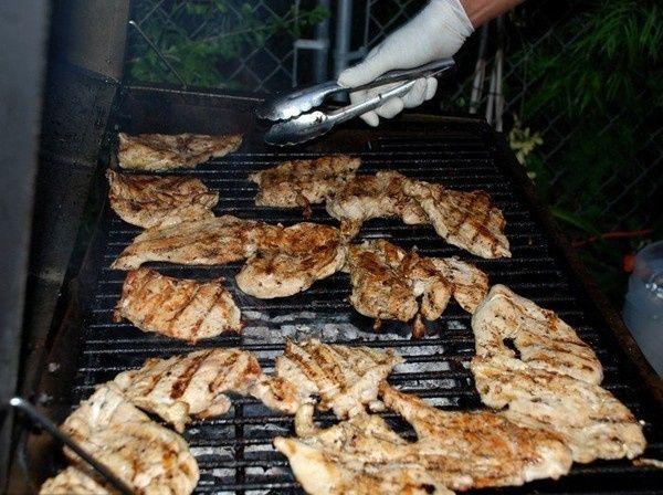La Taquiza Catering grilling area
