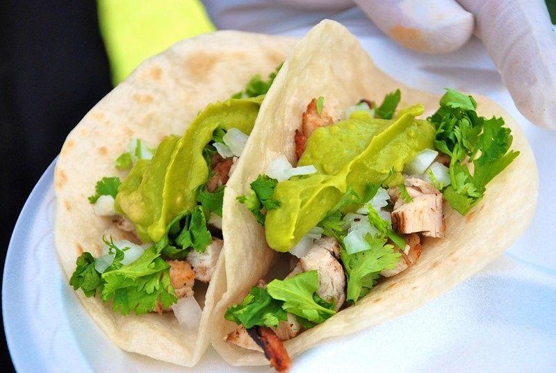 Leafy tacos