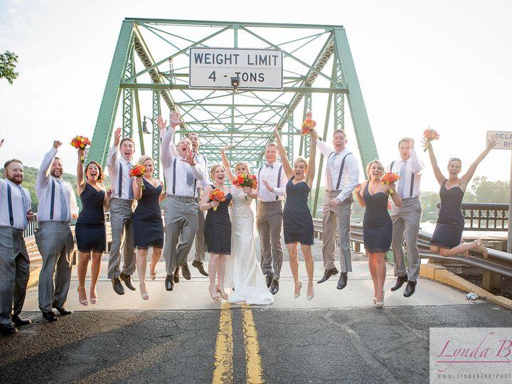 Tmx 1484778141551 Party Jumping On Bridge Lambertville, NJ wedding venue