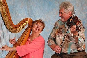 Kraichy and Erickson Harp and Violin