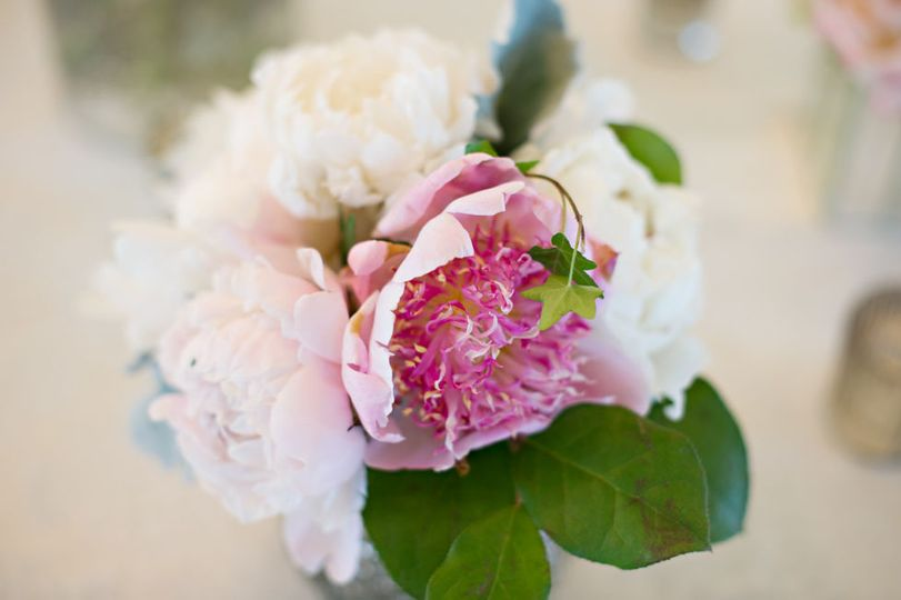 Peony Table Center Piece