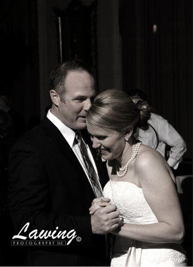 Bride and goom