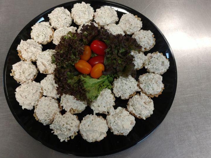 Tmx 1466002589123 Chicken Salad Phyllo Cups Winston Salem, NC wedding catering