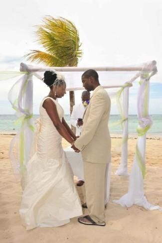 The Norman's Caribbean Wedding
