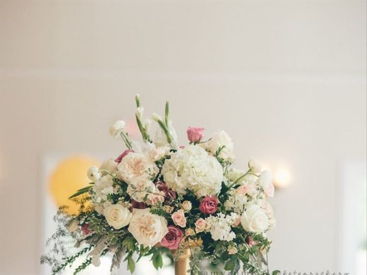 Tmx 1497512099959 Blush And Gold Centerpeice Fort Worth, TX wedding florist