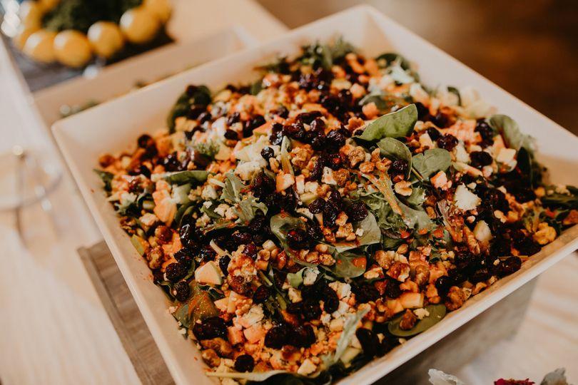 Gorgonzola Apple Salad