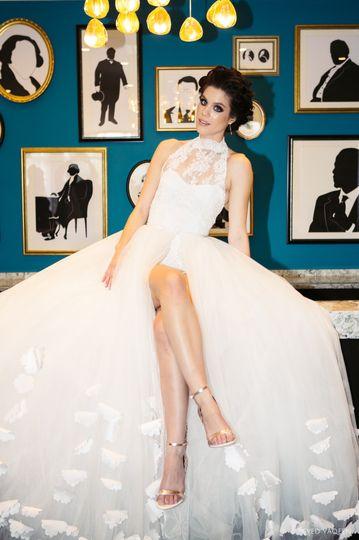 White Dress by Greta Kay
