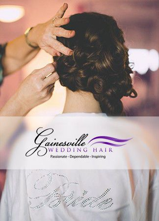 Gainesville Wedding Hair