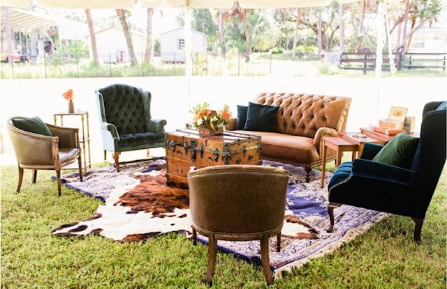 Cigar Lounge area