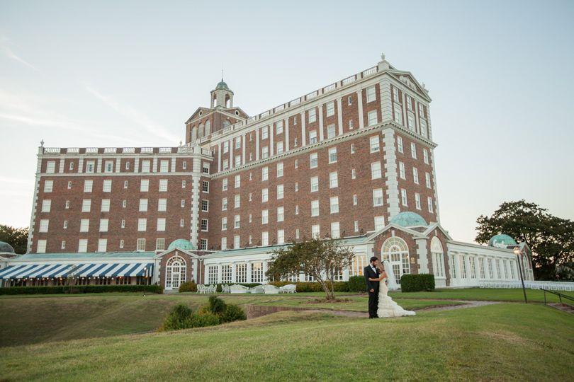 Historic Cavalier Hotel and beach club