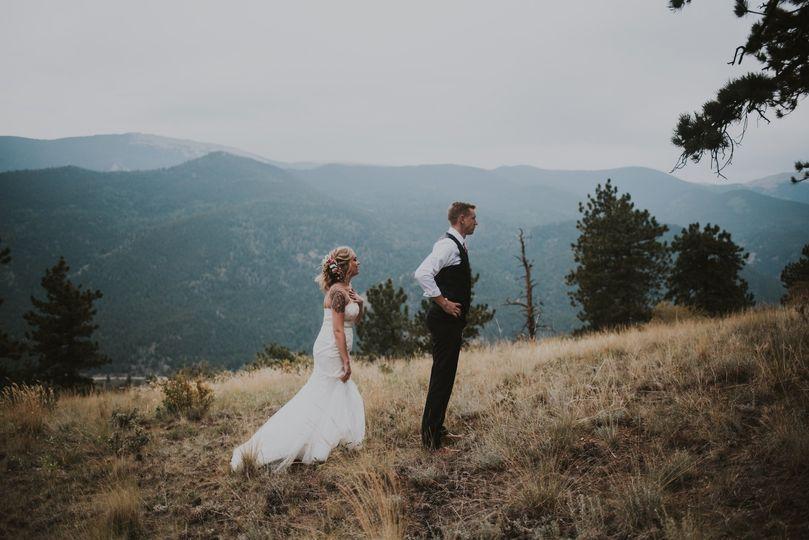 On the misty hillside