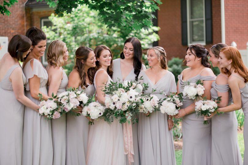 Spring bridesmaids dresses