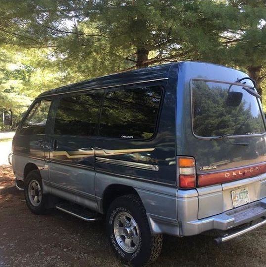 Sweet boosted Mitsubishi Delica