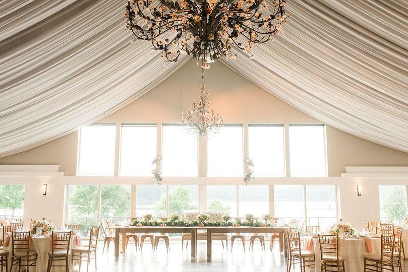 Indoor reception space and design