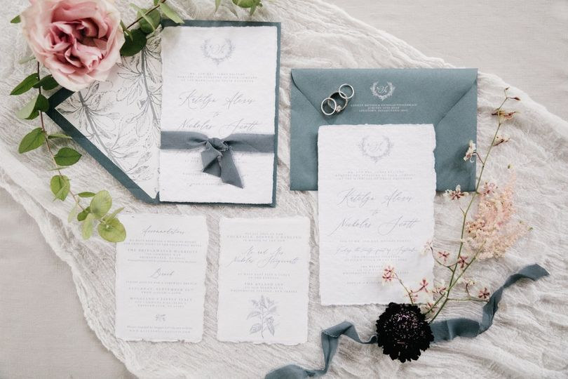 Invitation styling