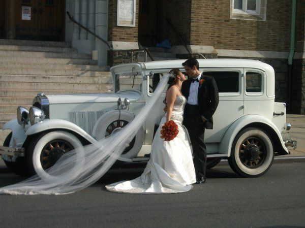 Antique cars for weddings.