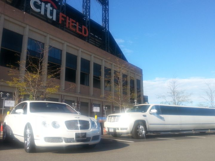 Tmx 1486778891025 Bentley And Escalade Limo At Citifield New York, NY wedding transportation